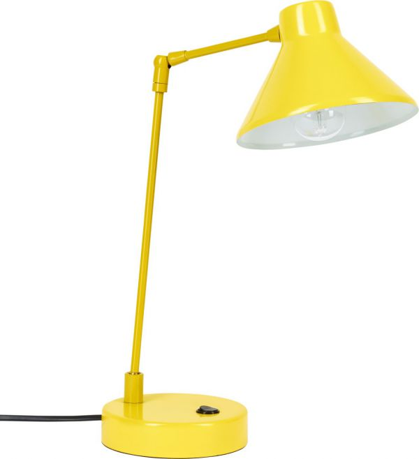 Top Bobby - Desk lamp made of metal, yellow - Habitat OU37